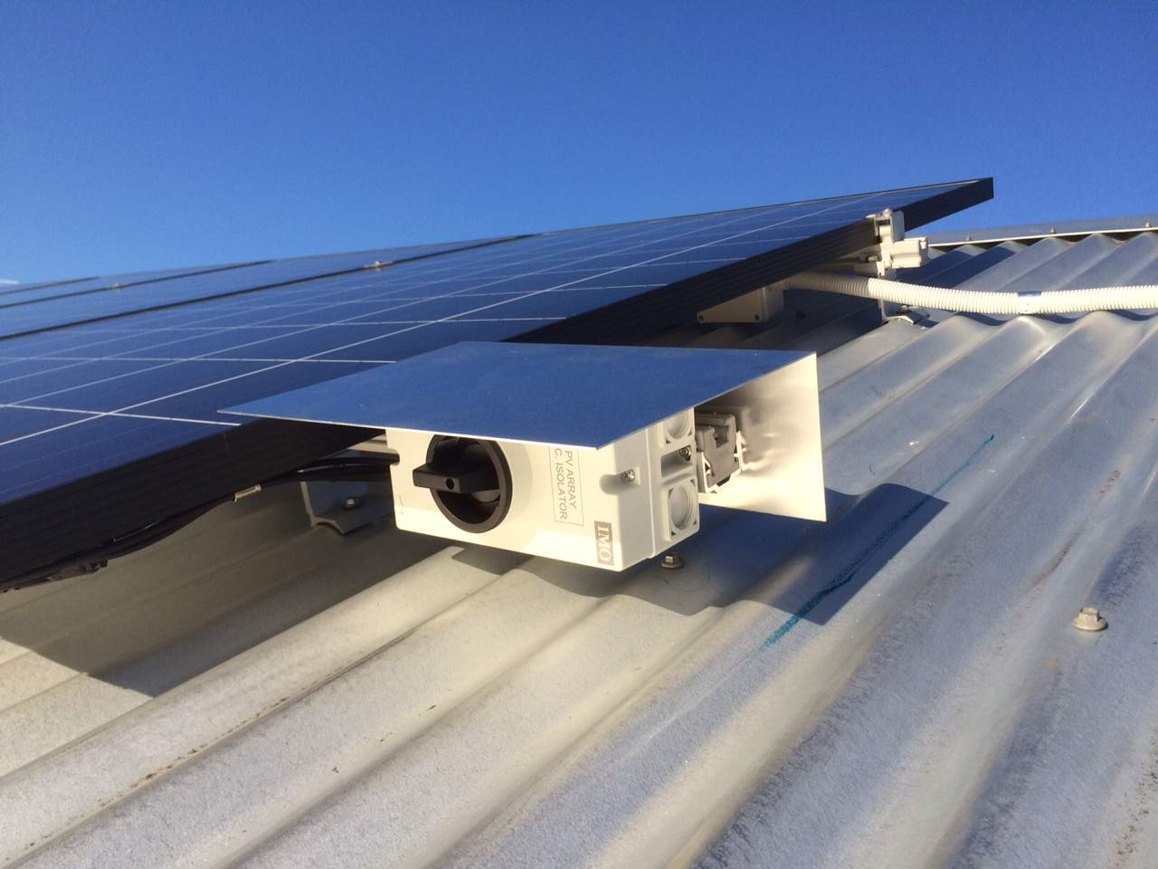 Solar Installation Quality - Rooftop Isolator Protection